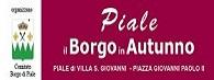 """Adesione iniziativa """"I Borgo in Autunno"""""""