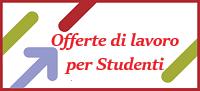 Offerte di Lavoro per studenti